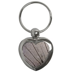 Sea Fan Coral Intricate Patterns Key Chains (heart)