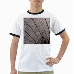 Sea Fan Coral Intricate Patterns Ringer T-Shirts
