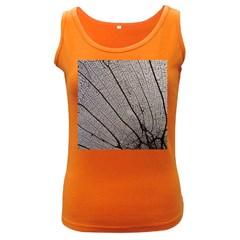 Sea Fan Coral Intricate Patterns Women s Dark Tank Top