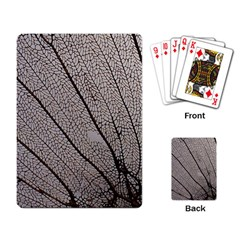 Sea Fan Coral Intricate Patterns Playing Card