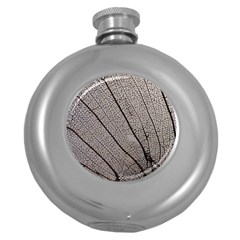 Sea Fan Coral Intricate Patterns Round Hip Flask (5 Oz)