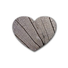 Sea Fan Coral Intricate Patterns Heart Coaster (4 pack)