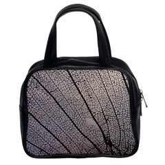 Sea Fan Coral Intricate Patterns Classic Handbags (2 Sides)