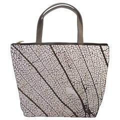 Sea Fan Coral Intricate Patterns Bucket Bags