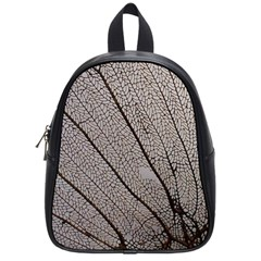 Sea Fan Coral Intricate Patterns School Bags (small)