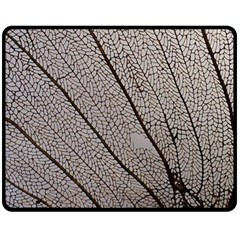Sea Fan Coral Intricate Patterns Fleece Blanket (medium)