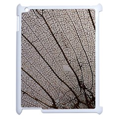 Sea Fan Coral Intricate Patterns Apple iPad 2 Case (White)