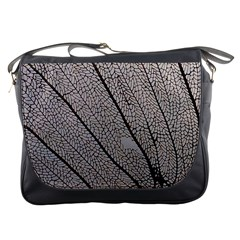Sea Fan Coral Intricate Patterns Messenger Bags