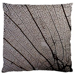 Sea Fan Coral Intricate Patterns Large Cushion Case (two Sides)