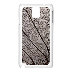 Sea Fan Coral Intricate Patterns Samsung Galaxy Note 3 N9005 Case (White)