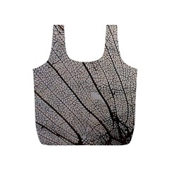 Sea Fan Coral Intricate Patterns Full Print Recycle Bags (S)