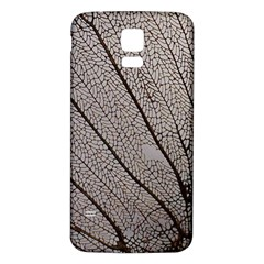 Sea Fan Coral Intricate Patterns Samsung Galaxy S5 Back Case (White)