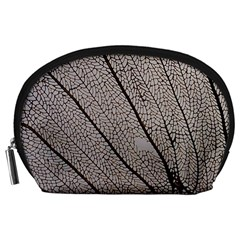 Sea Fan Coral Intricate Patterns Accessory Pouches (large)