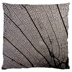 Sea Fan Coral Intricate Patterns Large Flano Cushion Case (two Sides)