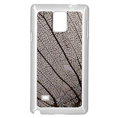 Sea Fan Coral Intricate Patterns Samsung Galaxy Note 4 Case (white)