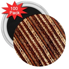 Udan Liris Batik Pattern 3  Magnets (100 Pack)