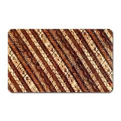 Udan Liris Batik Pattern Magnet (rectangular)