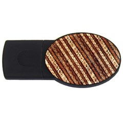 Udan Liris Batik Pattern USB Flash Drive Oval (1 GB)