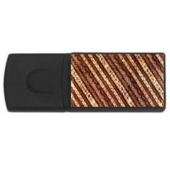 Udan Liris Batik Pattern USB Flash Drive Rectangular (1 GB)