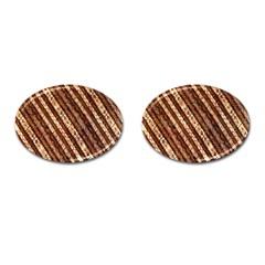 Udan Liris Batik Pattern Cufflinks (oval)