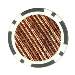 Udan Liris Batik Pattern Poker Chip Card Guard (10 Pack)