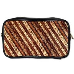 Udan Liris Batik Pattern Toiletries Bags 2-Side