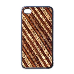 Udan Liris Batik Pattern Apple Iphone 4 Case (black)
