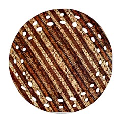 Udan Liris Batik Pattern Ornament (round Filigree)