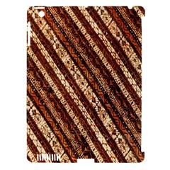 Udan Liris Batik Pattern Apple Ipad 3/4 Hardshell Case (compatible With Smart Cover)