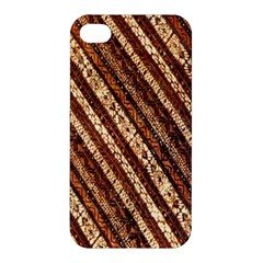Udan Liris Batik Pattern Apple iPhone 4/4S Premium Hardshell Case