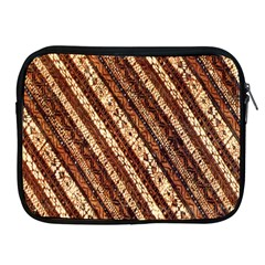 Udan Liris Batik Pattern Apple Ipad 2/3/4 Zipper Cases