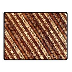 Udan Liris Batik Pattern Double Sided Fleece Blanket (small)