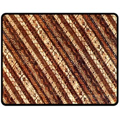 Udan Liris Batik Pattern Double Sided Fleece Blanket (medium)