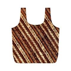 Udan Liris Batik Pattern Full Print Recycle Bags (m)