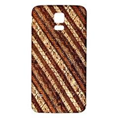 Udan Liris Batik Pattern Samsung Galaxy S5 Back Case (white)