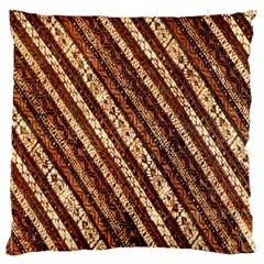 Udan Liris Batik Pattern Standard Flano Cushion Case (two Sides)