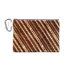 Udan Liris Batik Pattern Canvas Cosmetic Bag (M)