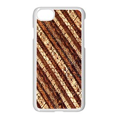 Udan Liris Batik Pattern Apple Iphone 7 Seamless Case (white)