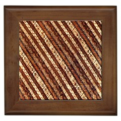 Udan Liris Batik Pattern Framed Tiles