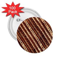Udan Liris Batik Pattern 2.25  Buttons (100 pack)