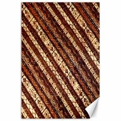 Udan Liris Batik Pattern Canvas 24  X 36