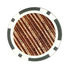 Udan Liris Batik Pattern Poker Chip Card Guard
