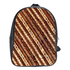 Udan Liris Batik Pattern School Bags(Large)