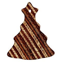 Udan Liris Batik Pattern Ornament (christmas Tree)