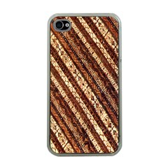 Udan Liris Batik Pattern Apple iPhone 4 Case (Clear)