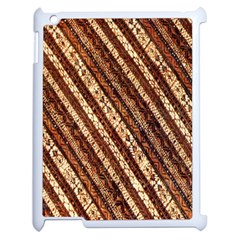 Udan Liris Batik Pattern Apple iPad 2 Case (White)