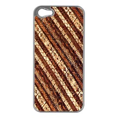 Udan Liris Batik Pattern Apple Iphone 5 Case (silver)