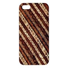 Udan Liris Batik Pattern Apple iPhone 5 Premium Hardshell Case