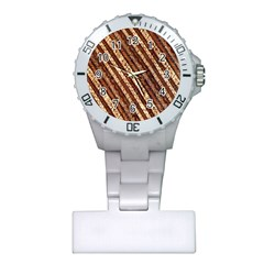 Udan Liris Batik Pattern Plastic Nurses Watch