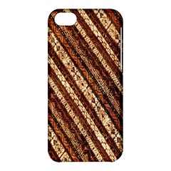 Udan Liris Batik Pattern Apple Iphone 5c Hardshell Case